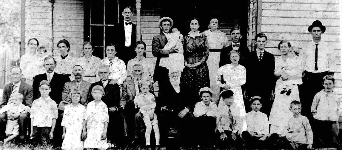 Rash family reunion about 1917